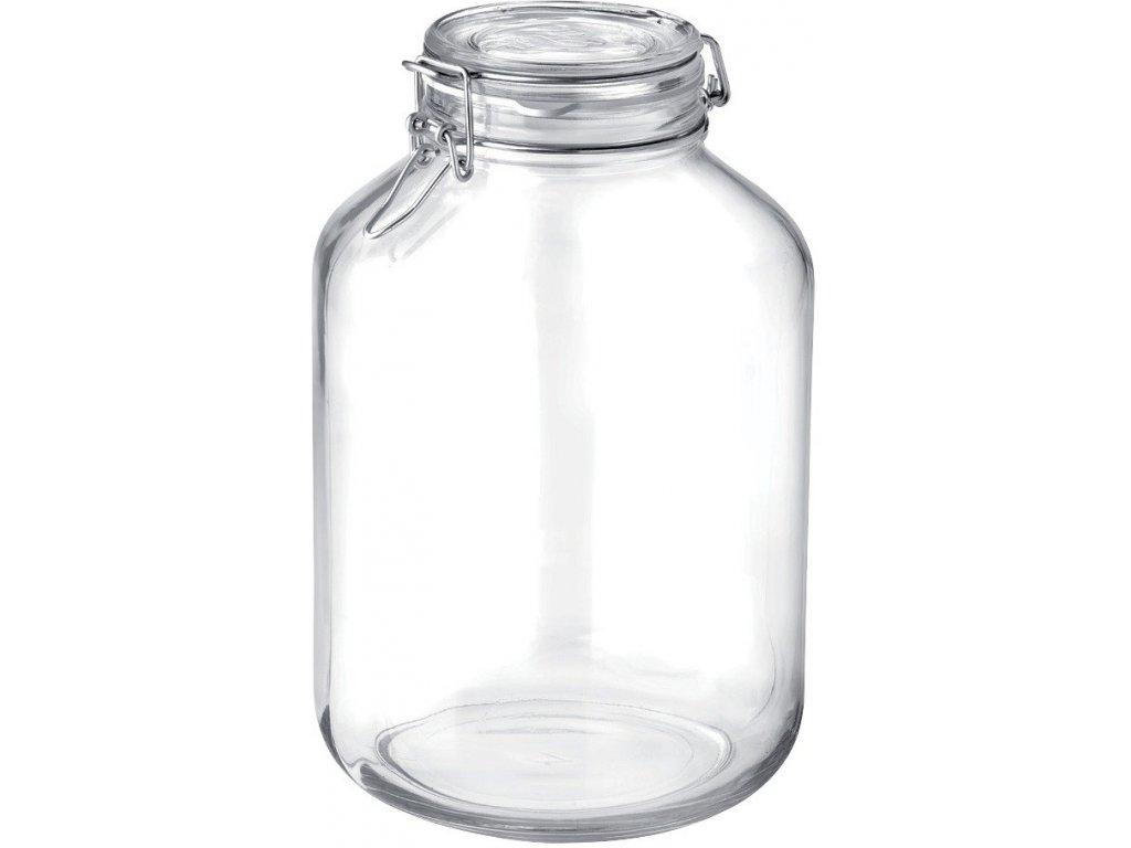 Dóza sklenice patentní 5L  FIDO