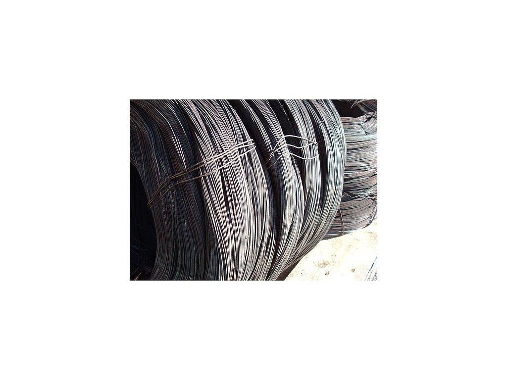 Drát vázací Fe ¤0,8mm, 1kg, černý (balení 25kg)