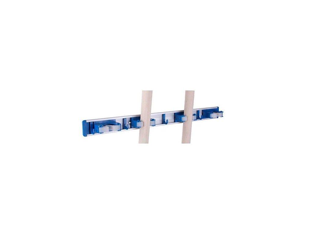 Držák nářadí nástěnný ALU/plast, 4 pozice  STREND