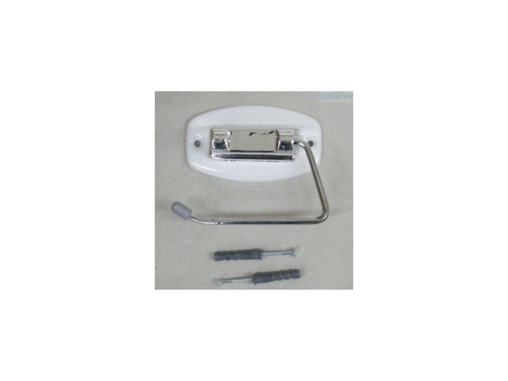 Držák WC papíru chrom/komaxit