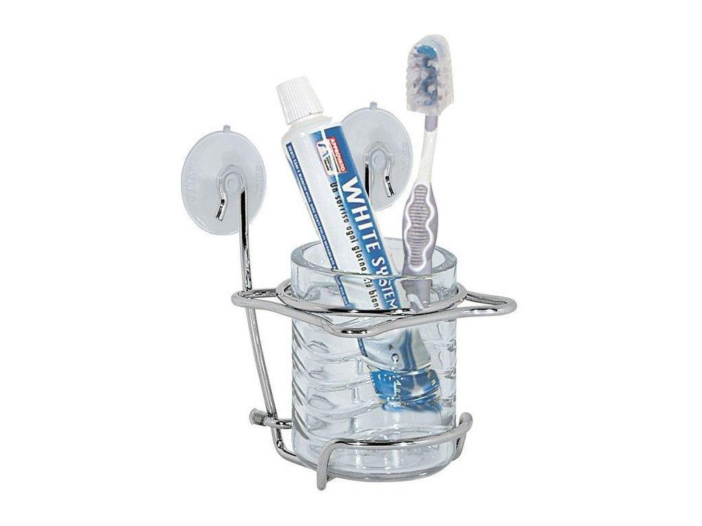 Držák zubních kartáčků chrom  ARTEX