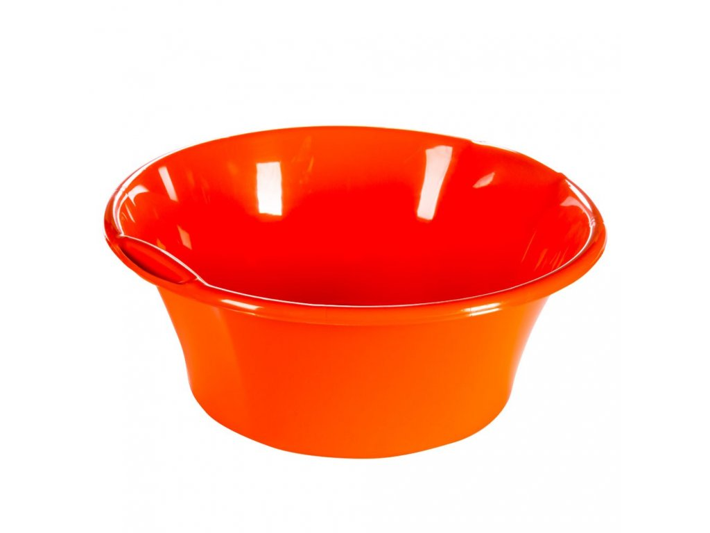 Dřez plastový 21,5L ¤50x20cm  BENTOM, mix barev