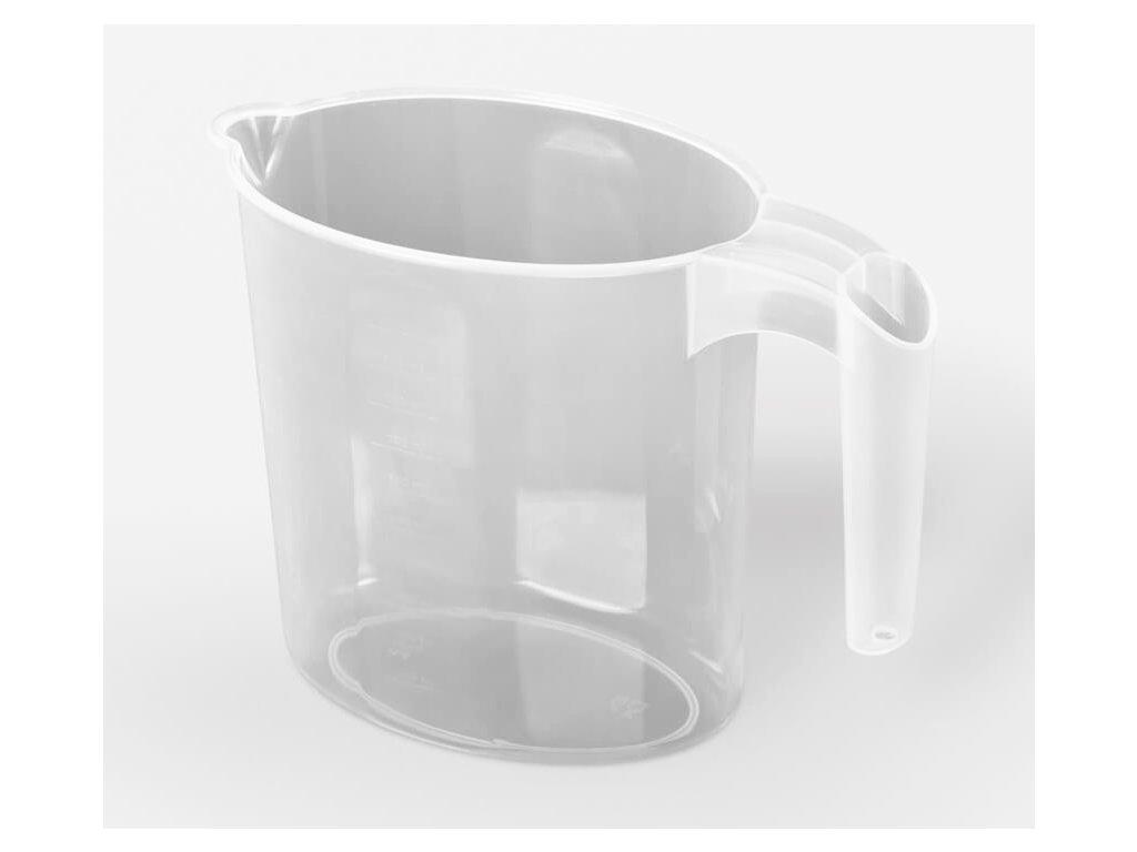 Džbán plastový 1L bez víka, odměrný  STERK