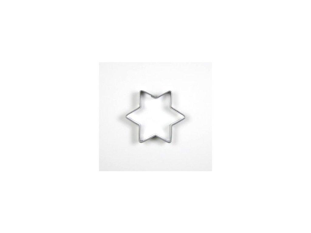 Vykrajovačka nerez hvězda malá 49x42mm  CZ
