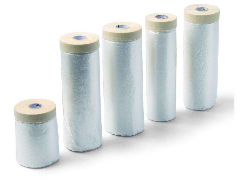 Fólie zakrývací 2,7x16m s papírovou lepící páskou SCHULLER