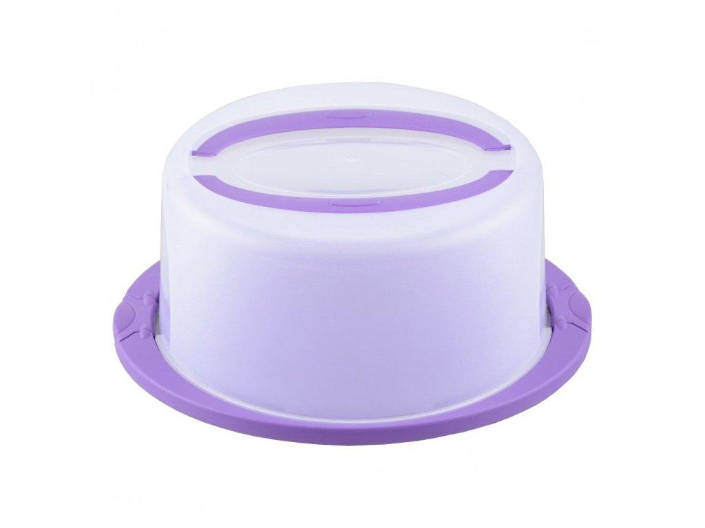 Box na dort s poklopem 40x35x16cm  STERK, mix barev