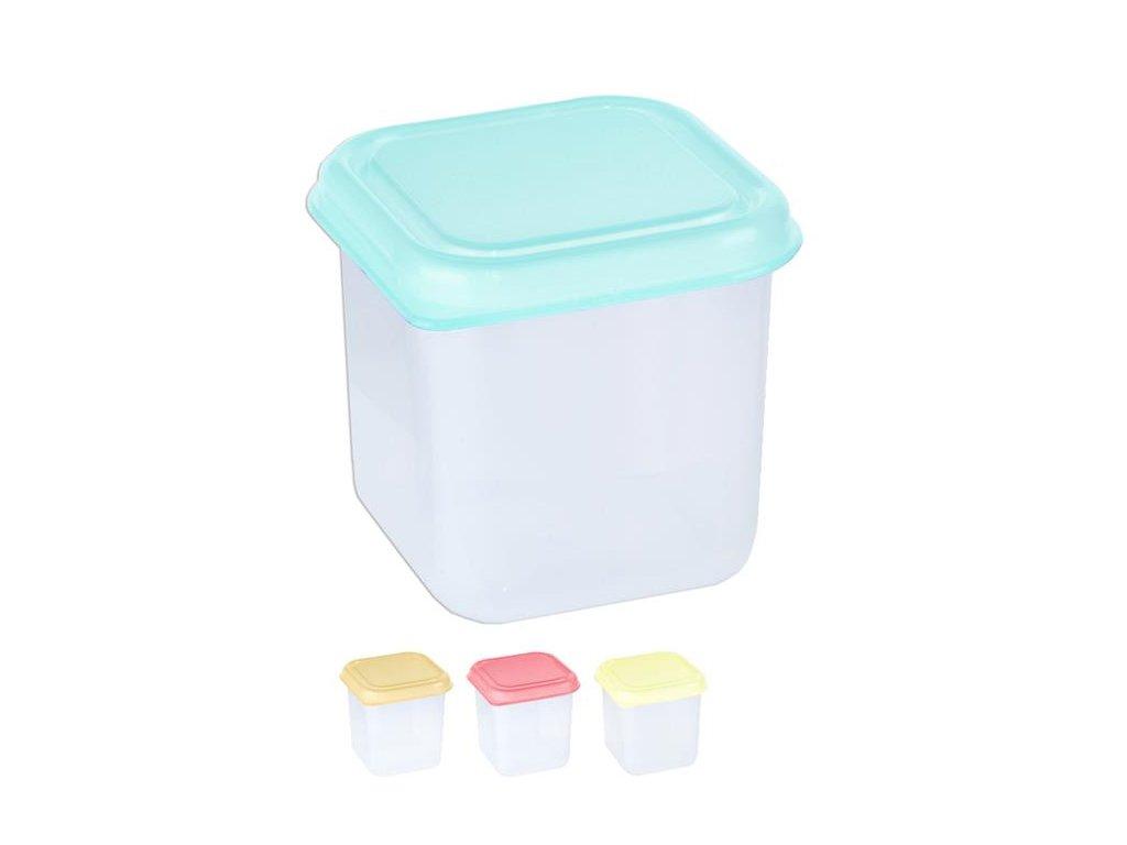 Box na potraviny MINI 6x6x6cm 150ml  FRESHBOX, mix barev
