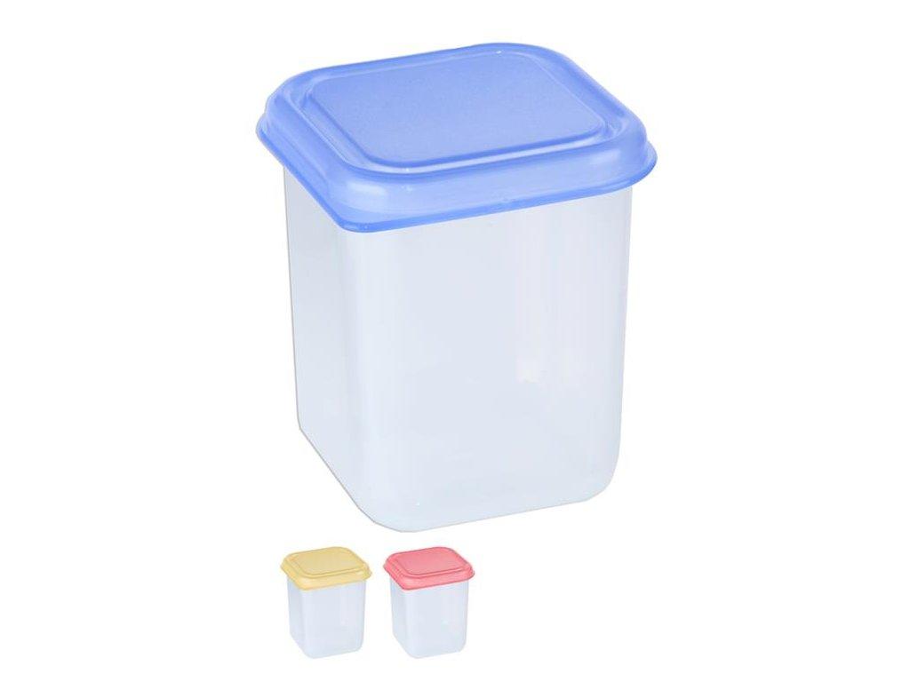 Box na potraviny MINI 6x6x8cm 200ml  FRESHBOX mix barev