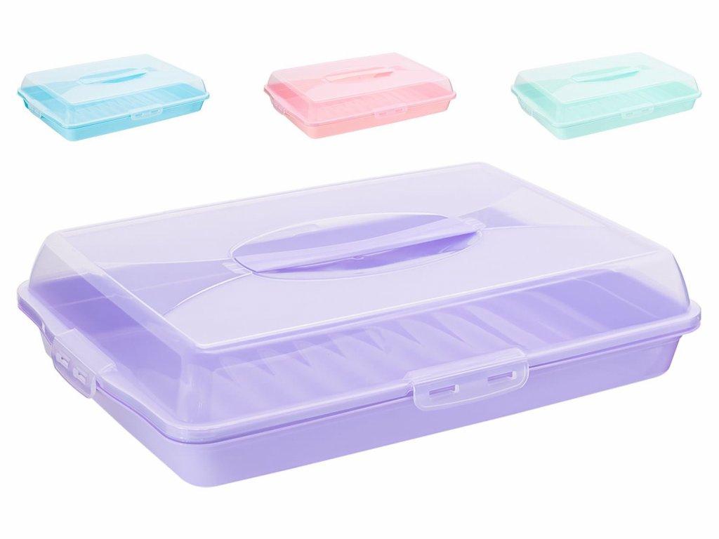 Box na potraviny PARTY 45x31x10cm  DUNYA, mix barev