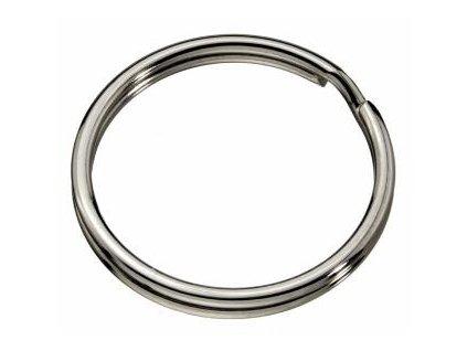 Kruh na klíče ¤25mm niklovaný (odběr bal.20ks)