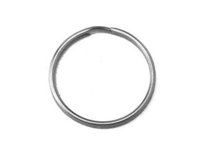 Kruh na klíče ¤40mm niklovaný (odběr bal.20ks)