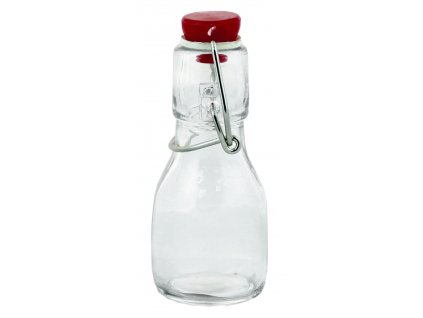 Láhev sklo patentní uzávěr  45ml, mix barev
