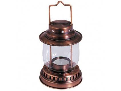 Lampa na svíčku 19cm  RETRO Cu