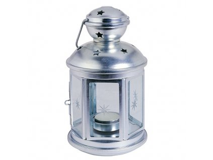 Lampa na svíčku 21cm  NIGHTSTAR Zn