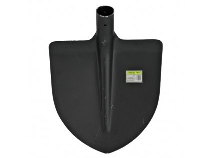 Lopata FE srdcovka 24x28cm černá bez násady