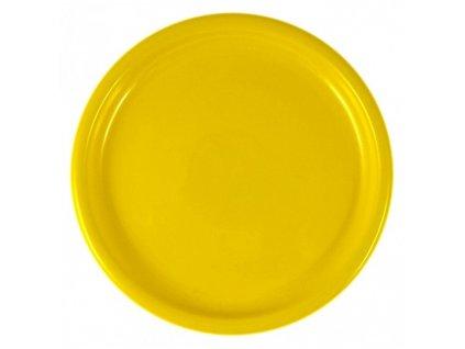 Miska pod květináč keramika DONICA ¤12cm  žlutá