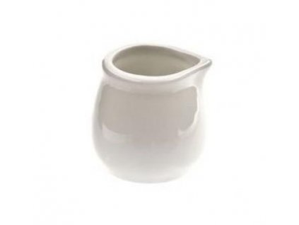 Mlékovka omáčník porcelán 20ml bílá  JOSEFA