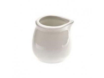 Mlékovka omáčník porcelán 40ml bílá  JOSEFA