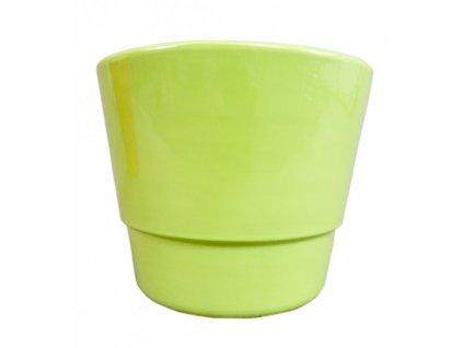Obal květináče keramika PRIMULA ¤12cm  zelená