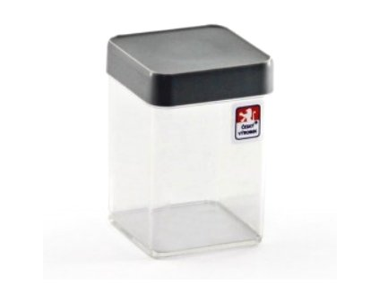 Dóza 0,15L krabička s víčkem  CZ, mix barev