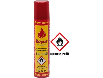 Plyn do zapalovačů 90ml  ROYCE