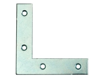 Rohovník nábytkový 50x50x17mm 4díry Zn (odběr bal.10ks)
