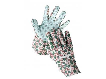 Rukavice zahradní textilní AVOCET  L (9)