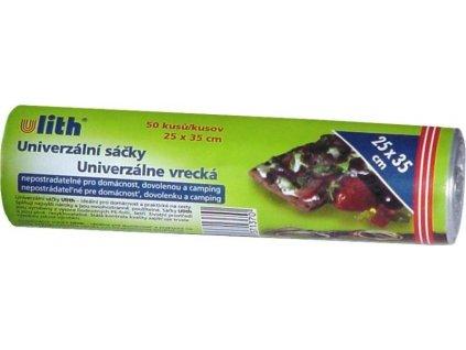 Sáčky mikrotenové 25x35cm, 50ks v roli  ULITH