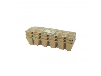 Sadbovač papírový HERRISON 12 buněk 4,5x4,5x5,5cm bal.3ks