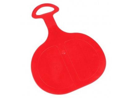 Sáňkovací lopata/klouzák PINGUIN červená  CZ