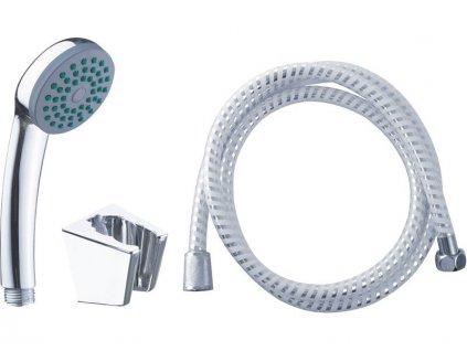 Sprchová sada malá, hlavice, držák, hadice 150cm  VIKING