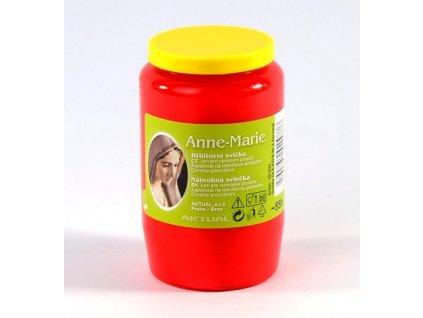Svíčka olejová 155g 2,5dne  Anne-Marie BOLSIUS červená
