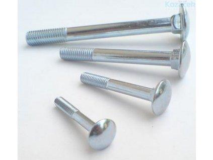 Šroub vratový 5x20mm ZB 100ks (odběr balení 1000ks)