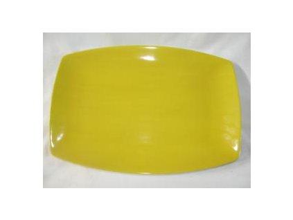 Talíř obdélníkový 31x21cm keramika