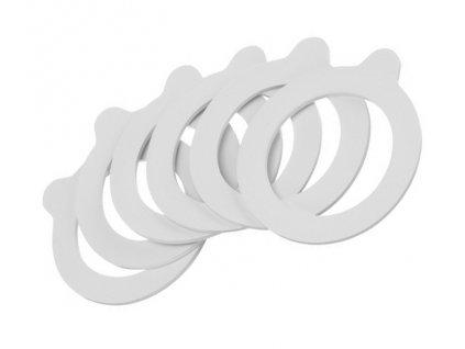 Těsnění guma na patentní sklenice ¤56/80mm 6ks
