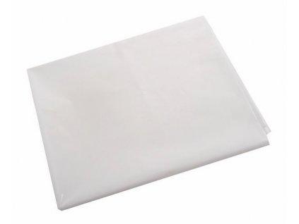 Ubrus PVC 130x110cm  FOL transparentně bílý