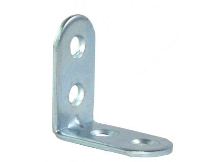 Úhelník  20x 20/15mm s2mm UP2 2díry Zn (odběr bal.10ks)