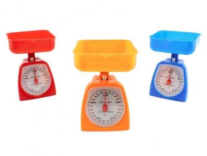 Váha kuchyňská  5kg mechanická s miskou  COLOR, mix barev