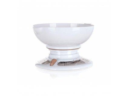 Váha kuchyňská 3kg mechanická s miskou  CULINARIA WHITE