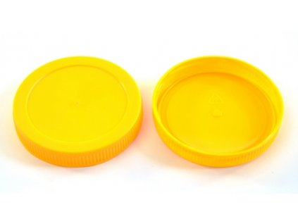 Víčko ¤82mm Twist PH žluté (odběr bal.40ks)