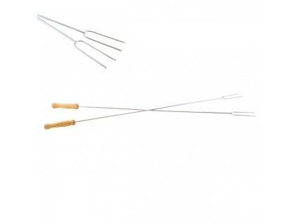 Vidlice opékací/grilovací 76cm  KOZÁČEK