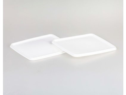 Víko jídlonosiče barevného 1,2L 16x16cm bílá  CZ