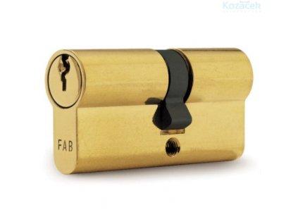 Vložka FAB cylindrická 2020 29+35mm, 3 klíče