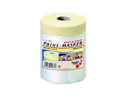 Fólie zakrývací 0,55x33m s papírovou lepící páskou  SCHULLER