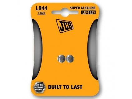 Baterie knoflíková lithium LR44 2ks JCB