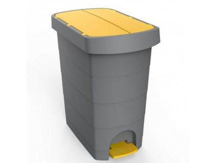 Koš odpadkový pedál 20L  PLAST