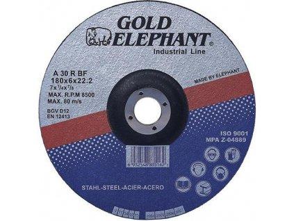 Kotouč řezný FE/INOX 115x1,6x22mm  GOLD ELEPHANT