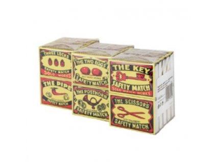 Zápalky bezpečnostní malé 10ks krabiček  SOLO