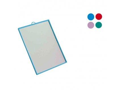 Zrcadlo obdelník 10x14cm  TUKOR, mix barev