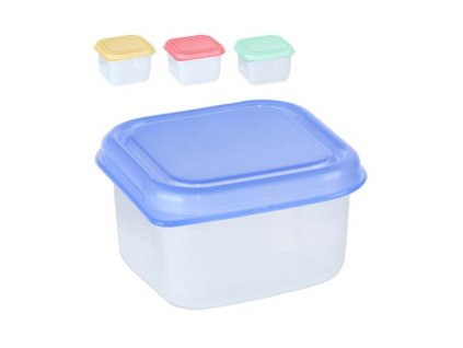 Box na potraviny MINI 6x6x4cm 100ml  FRESHBOX, mix barev